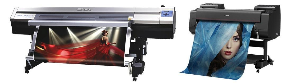 drukarki wielkoformatowe